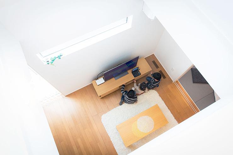 イメージ:夏涼しく・冬暖かい住宅