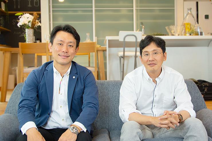 株式会社松尾設計室 松尾和也先生とえひめ住販 滝口貴士社長