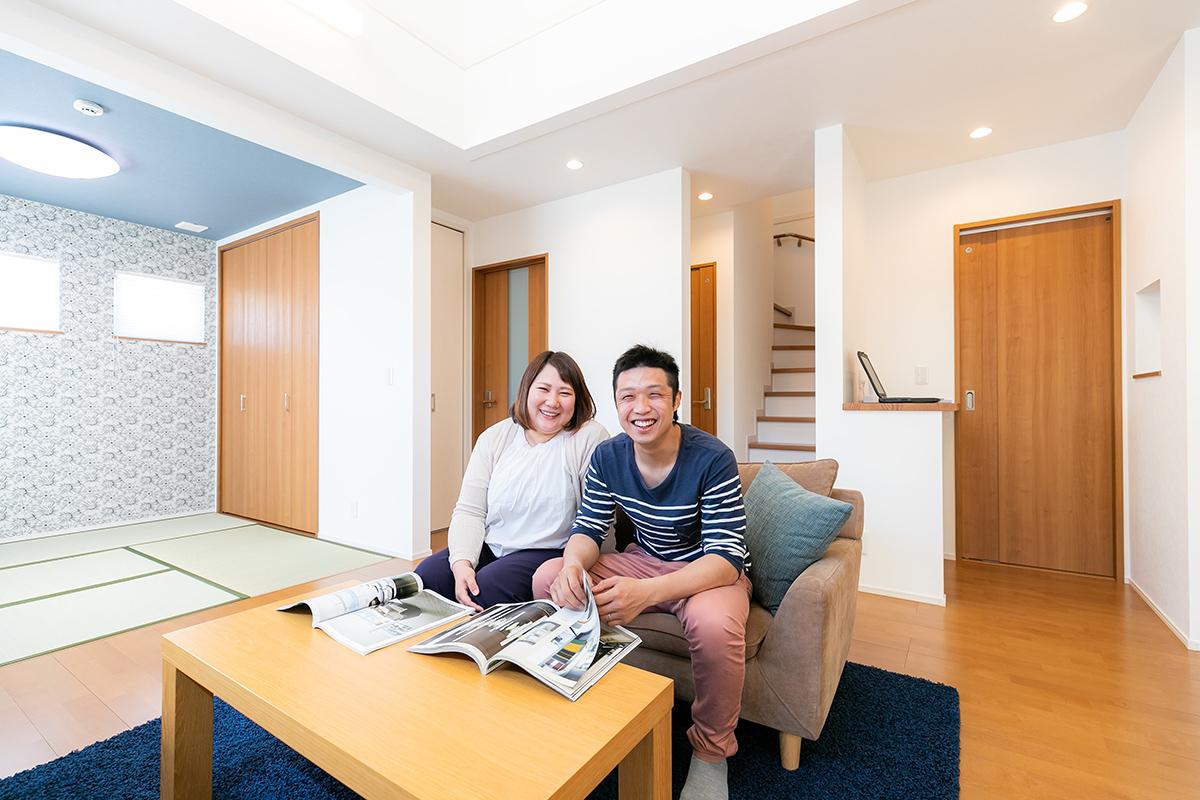 施工事例 / 性能・収納・コストすべてに満足できる家 (今治市Y様邸)