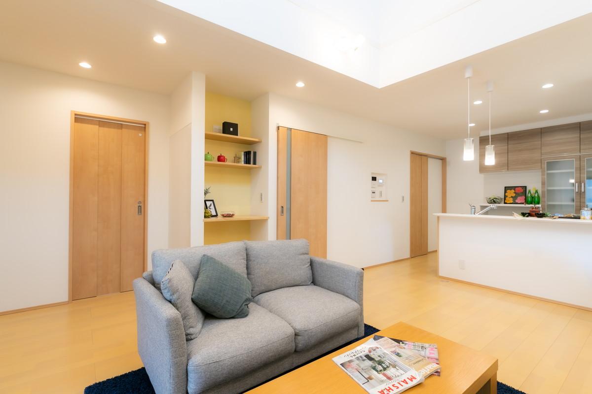 施工事例 / ご家族の暮らしをサポートする、安心の高性能住宅 (松山市A様邸)